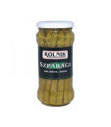 Rolnik szparagi całe zielone 370ml