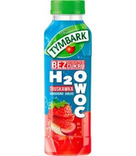 Tymbark H2Owoc jabłko-winogrono-truskawka 0,4l