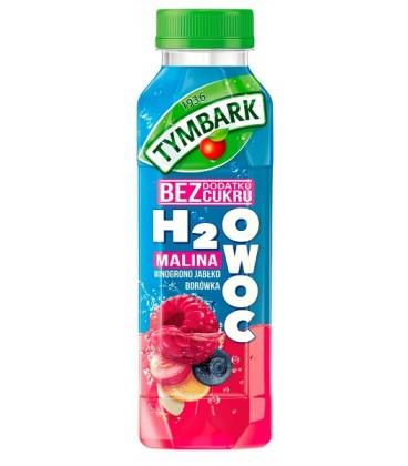 Tymbark H2Owoc jabłko-malina-winogrono 0,4l