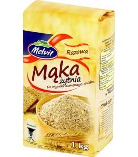 Melvit Mąka żytnia razowa kg