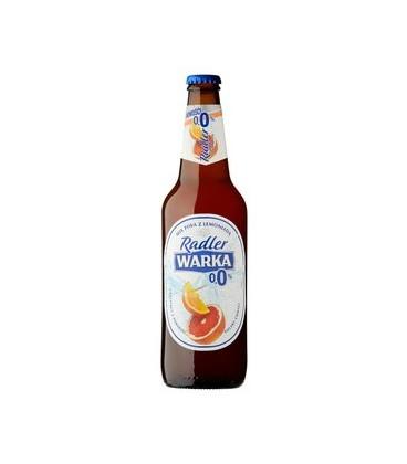 Warka Radler Pomarańcza-Grapefruit 0% 0,5L.butelka