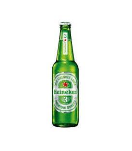 Heineken 3,3% 0,5 l.Butelka