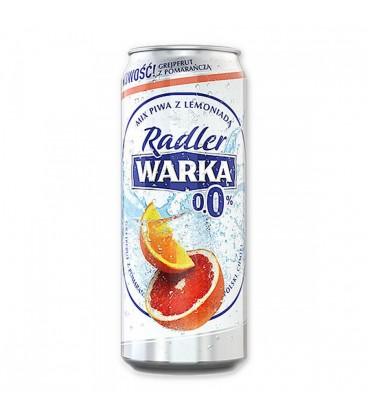 Warka Radler Pomarańcza-Grapefruit 0% 0,5LPuszka