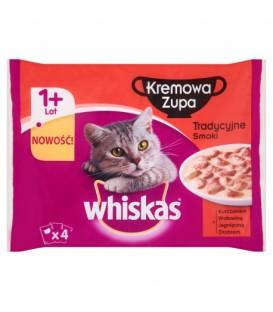Whiskas Tradycyjne krem zupa 4x85g