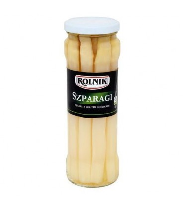 Rolnik szparagi całe370ml