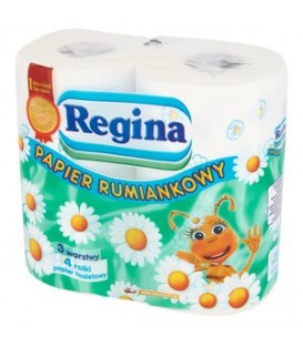 Regina papier toaletowy 4 szt.rumianek