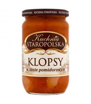 Graal Kuchnia S.Klopsiki w sosie pomidorowym 700g