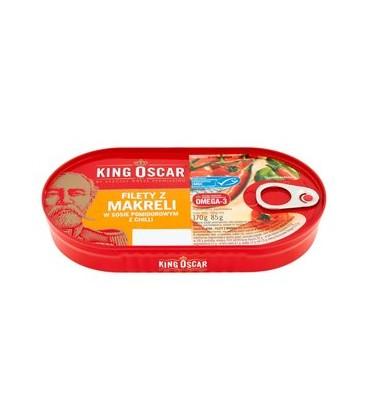 King Oscar filet z makreli w sos.pom. z chilli170g