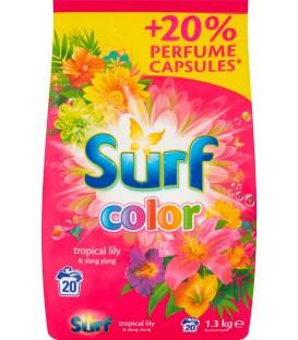 Surf proszek do prania 20 pr pink 1,3kg