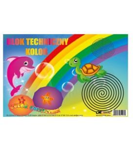 Blok Techniczny A4 Kolor