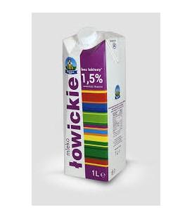 Łowicz Mleko Łowickie 1,5% 1L bez laktozy