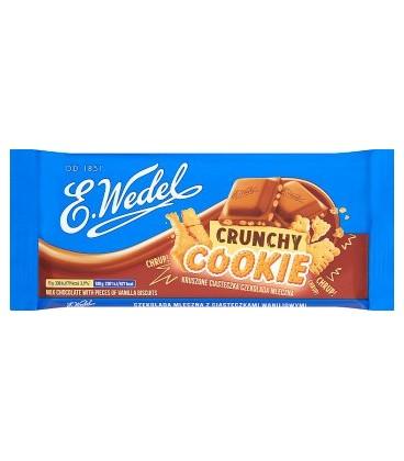 Wedel Crunchy cookie czek.mlecz.z wanil.ciast.90g