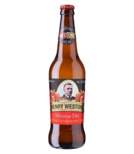 Henry Westons Medium Dry but. 0,5l