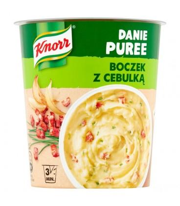 Knorr Danie puree z boczkiem i cebulą 51g