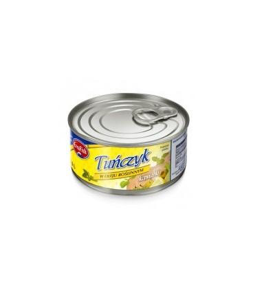 EvraFish tuńczyk kawałki w oleju 170g