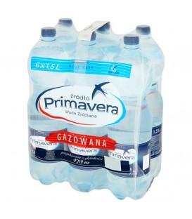 Primavera 6x1,5 l.woda gazowana