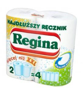 Regina najdłuższy ręcznik papier biały 2szt.