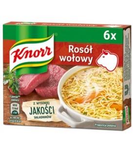 Knorr Bulion Wołowy 3l.