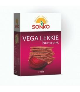 Sonko Pieczywo Vega Lekkie Buraczek 120g.