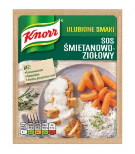 Knorr sos śmietanowo-ziołowy 29g