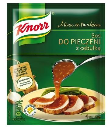 Knorr sos pieczarkowy z cebulą 37g