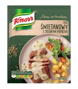 Knorr sos śmietanowy z zielonym pieprzem 30g