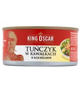 King Oscar Tuńczyk w kawał. w oleju roślinnym 170g