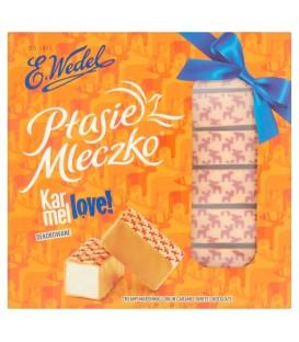 Wedel Ptasie Mleczko śmiet.w pol.karmelowej 380g