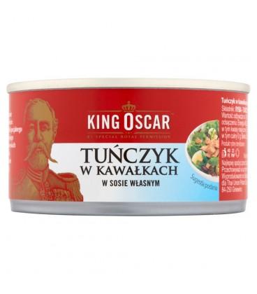 King Oscar Tuńczyk w kawał. w sosie własnym 170g