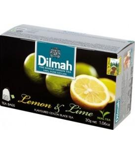 Dilmah herbata cytryna i limonka 30g