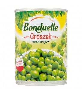 Bonduelle groszek konserwow400g