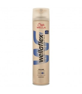 Wellaflex bardzo mocno utrwalaj.lakier d/włos250ml