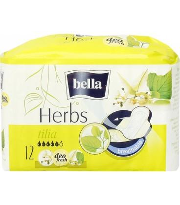 Bella herbs z kwiatem lipy podpaski higienicz12szt