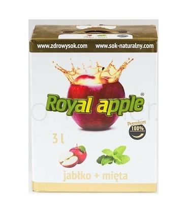 Royal Apple jabłko-mięta 3L