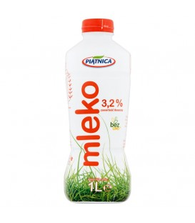Piątnica Mleko trwałe UHT 3,2% butelka 1L