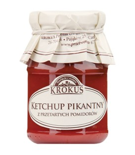 SN Krokus Ketchup pikantny 180g