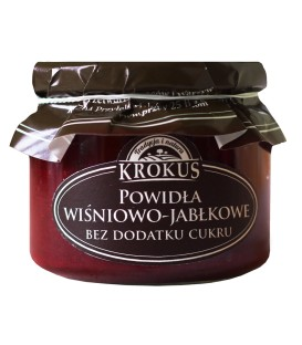 SN Krokus Powidła wiśniowo-jabłkowe b/c 310g