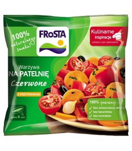 Frosta czerwone warzywa na patelnię 400g