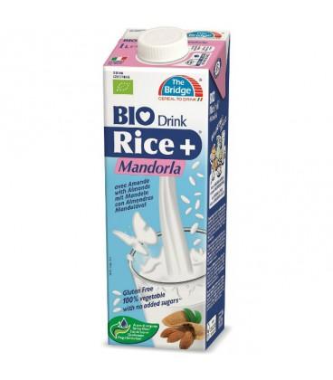 SN The Bridge Napój ryżowy z migdałami b/g Eko 1L