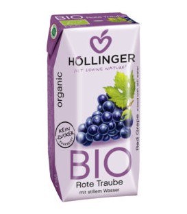 Hollinger Nektar z czerwon.winogron b/c Eko 200ml