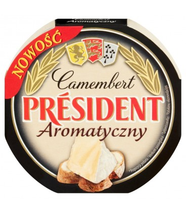 President Camembert Aromatyczny 120g