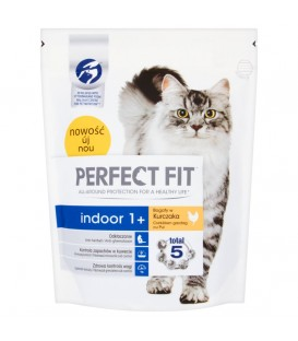 Perfect Fit Indoor 1+ Bogaty w Kur.750g