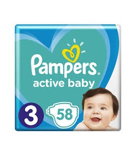 Pampers pieluchy AB VP S3(58)
