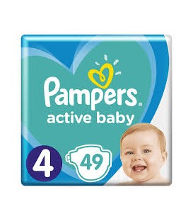 Pampers pieluchy AB VP S4(49)