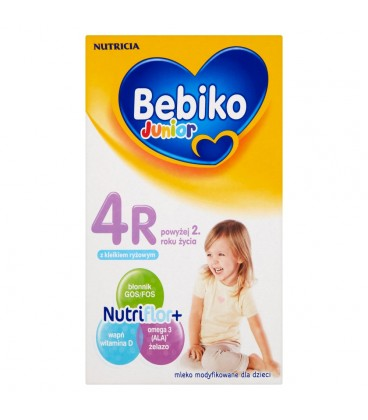 Bebiko Junior 4R Mleko modyfikowane dla dzieci powyżej 2. roku życia 350 g