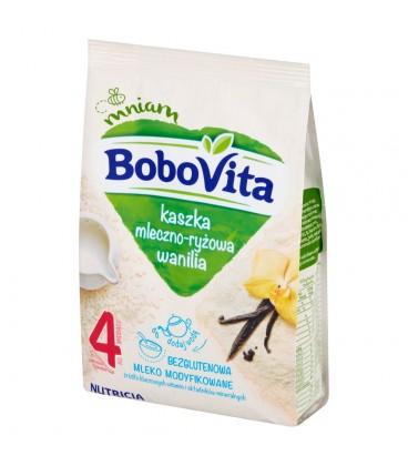 BoboVita Kaszka mleczno-ryżowa wanilia po 4 miesiącu 230 g