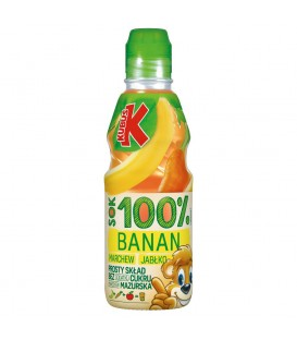 Kubuś 100% Sok banan marchew jabłko 300 ml