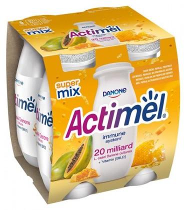 Actimel 4*100g Miód/Papaja/Propolis