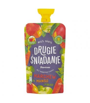 Dawtona Mus jabłko marchew mango 100g
