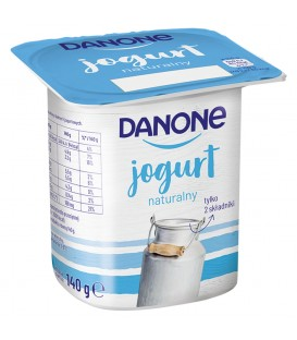 Danone Jogurt Naturalny 140g